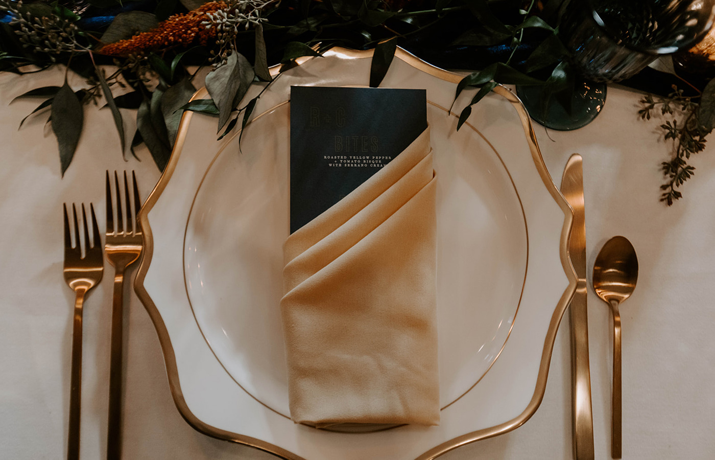 Revolution-Paper-Co-Luxury-Wedding-Stationery-Modern-Mustard-Collection-Menu-photo-by-Amanda-Leise-Photography