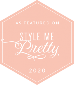 Style Me Pretty Featured Revolution Paper Co's modern and minimalist stationery on it's blog!