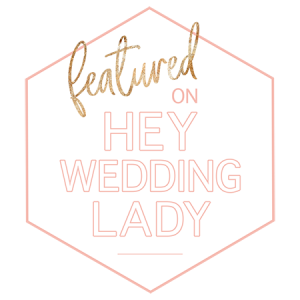Hey Wedding Lady Featured Revolution Paper Co's Badass Semi-Custom Invitation Suite on their blog!